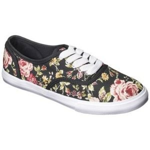 Mossimo Floral Sneakers